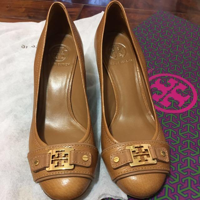 🇺🇸美國帶回時尚精品Tory Burch楔型高跟鞋