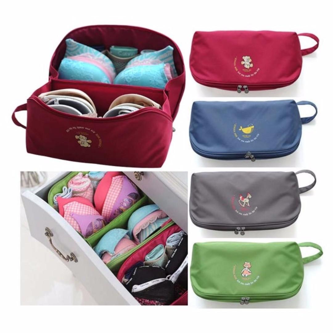 Travel Underwear Bra Storage Bag B4008