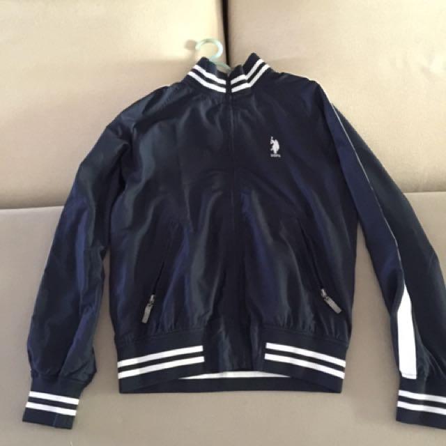 U.S. POLO ASSN Navy blue jacket(Medium size)