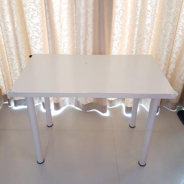 White Table - IKEA VIKA AMON