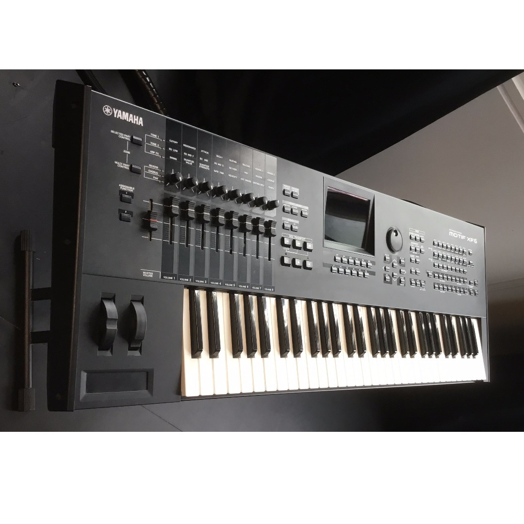 Yamaha Motif XF6, Music & Media, Music Instruments on Carousell