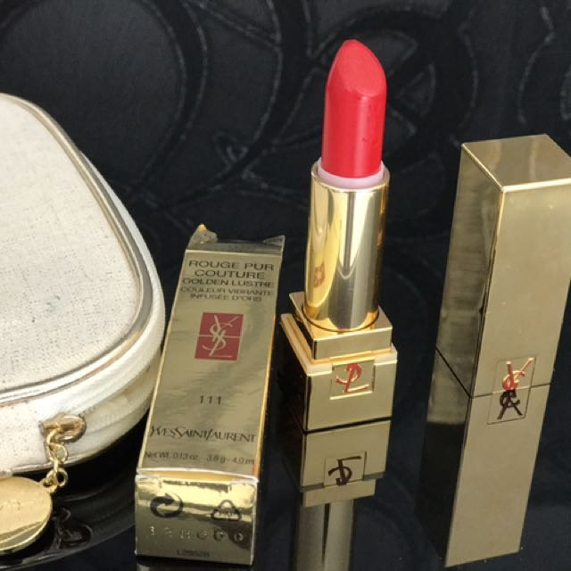 YSL Lipstick  Rouge Pur Couture Golden Lusture