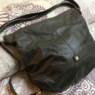HILLY Full Leather Handbag