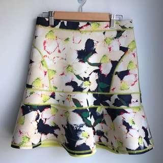 JCrew Cove Floral Skirt - Size 00