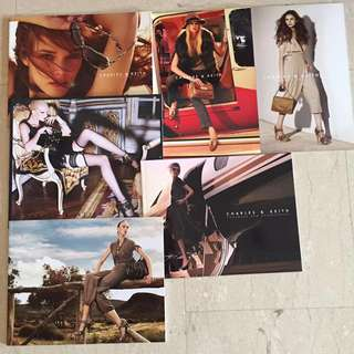 Archived Lot of Pedro + Charles & Keith Campaign Catalogues & Look Books