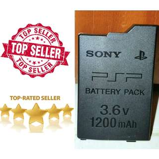 🏆5++ Hours Original Quality PSP Slim Batteries!! Please Read The Warning About Fake Batteries Below