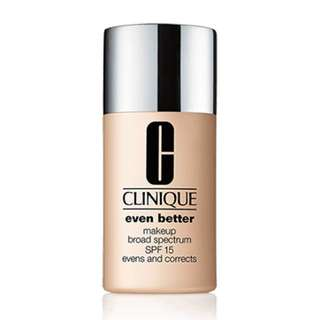 Clinique Even Better Skin Foundation  03 Ivory