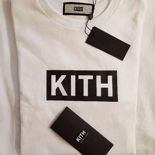 kith white box logo