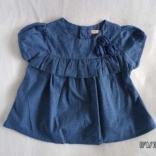 Preloved Baby Girl's Blouse