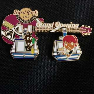 Sentosa Grand Opening  Limited Edition Hard Rock Pin Collectible