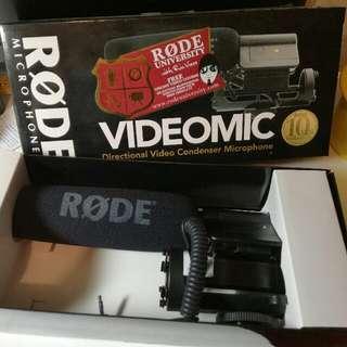 Rode Video Mic連盒