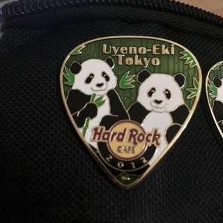 Japan Postcard Pick series Limited Edition Hard Rock Pin Collectible