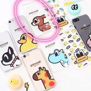 🇰🇷韓國Pancoat-小鹿 iPhone7 Plus 透明手機軟殻 (包郵)