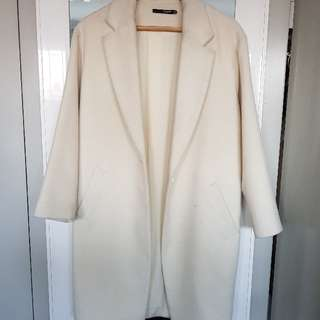 "Womens ""Off White"" Oversize Coat"