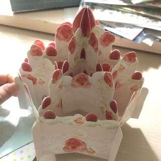 生日卡 生日蛋糕  立體卡 3D卡