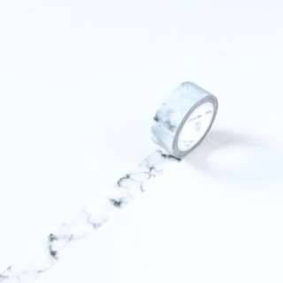 Premium White Marble Washi Tape #110