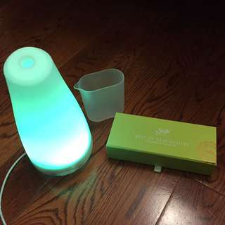 Best Set of Saje Diffuser Blends with Lighted Diffuser