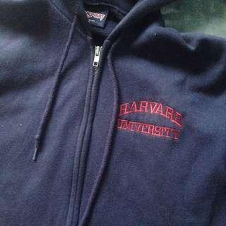 Navy Blue Harvard University Hoodie