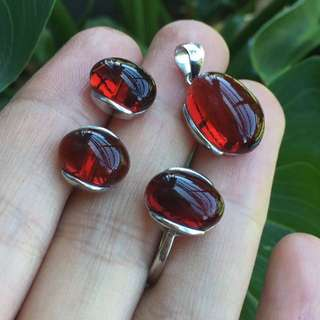 Blood Amber set