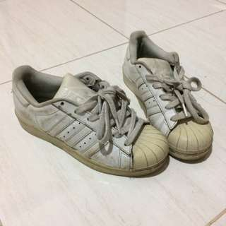 Adidas Superstar all white size 36