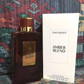 Davidoff Amber Blend EDP 100ML TESTER