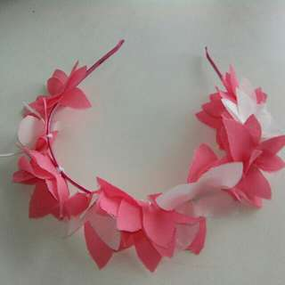 Floral Headbands (made of cloth)