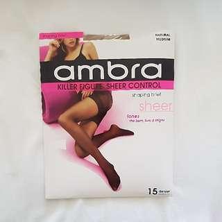 Ambra Stocking Shaping Brief Natural Medium