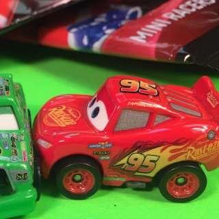 Disney Pixar Cars 3 - mini racers mystery blind diecast - Lightning Mcqueen