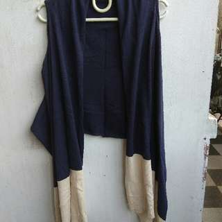 Two Tone Cardigan / Outer