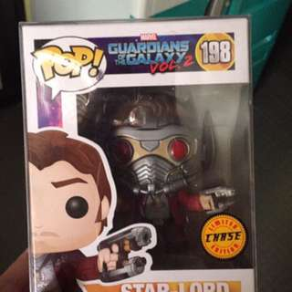 Funko pop Starlord Chase