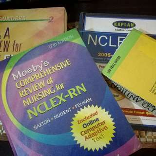 NCLEX REVIEWERS, IELTS MODULE & NANDA ETC.