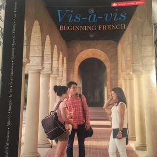 Ryerson Textbook FRE 101 (Introduction To French) And FRE 201