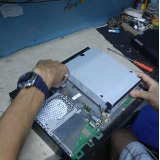 We repair Sony PS3 and Microsoft XBox Home service