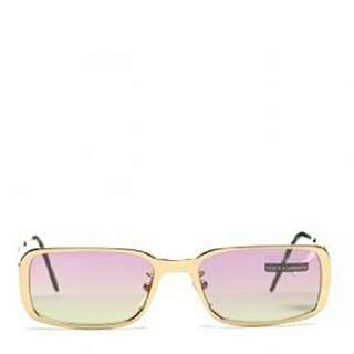 Vintage Dolce And Gabana Gold Rimmed Sunglasses