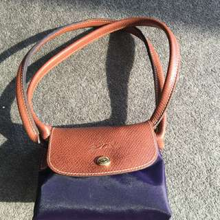 Genuine Longchamp Purple Bag
