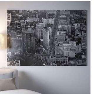 IKEA New York Large Canvas