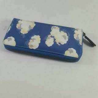 Cath Kidston Blue Wallet