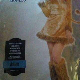 3 Piece Adult Lioness Costume