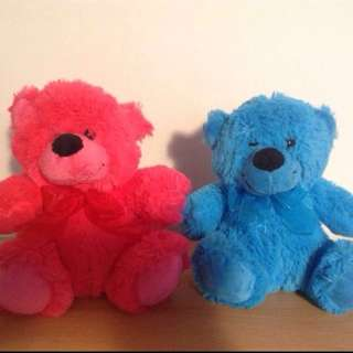 Him & her Official Elka Soft Plushie Bears. Make Me An Offer