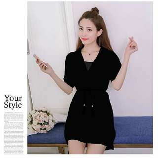 Chiffon Dress With Inner Top