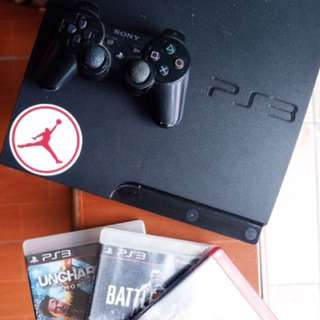 PS3 Semi-Slim with free games & controller