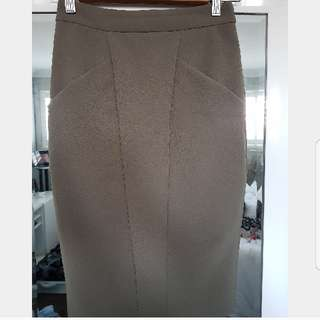 SHEIKE Green Fitted Skirt