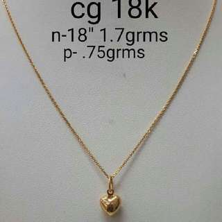 18k Chinese Gold Necklace