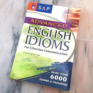 Advanced English Idioms