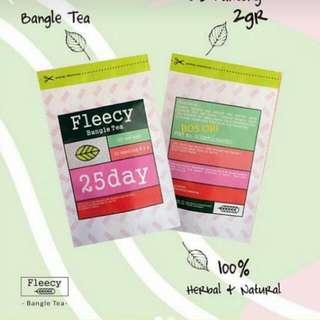Mau Langsing Dan Sexy?? Fleecy Bangle Tea
