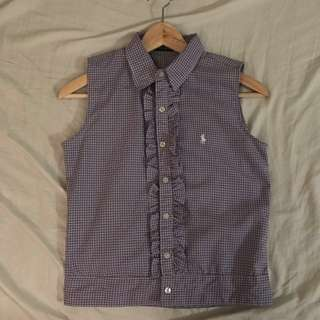 POLO Sleeveless Button-Up