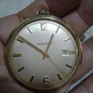 Antique Caravelle pocket watch