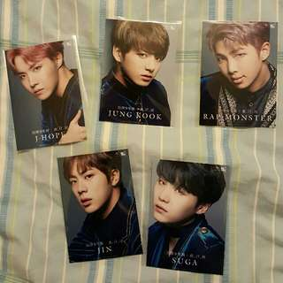 [WTS] BTS RARE LIMITED Chi Ase Namida Official Photocards