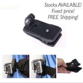 (available) All Purpose Clip For Your Action Camera
