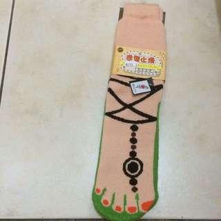 時尚造型止滑襪